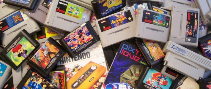 vieux jeux et vieilles consoles